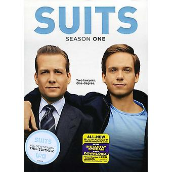 Suits: Season One [3 Discs] [DVD] USA import