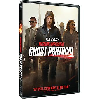 Mission Impossible Ghost protokol [DVD] USA importerer