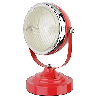 Table lamp Headlight Red