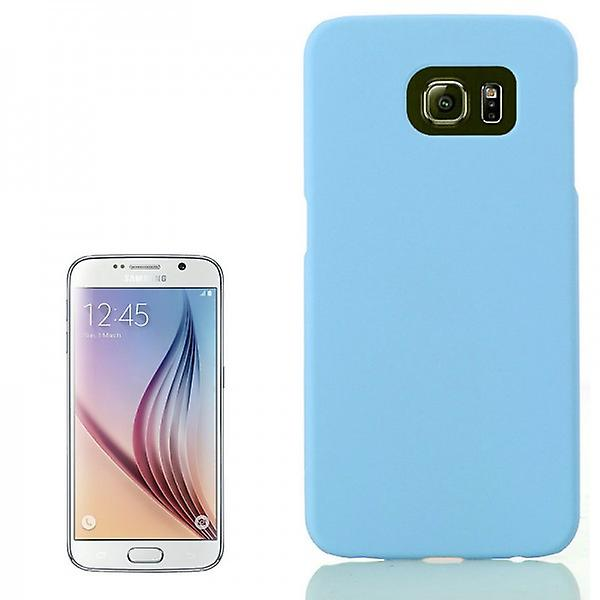 Hard case light blue rubber sleeve for Samsung Galaxy S6 G920 G920F