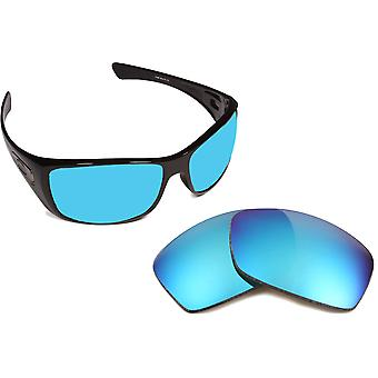New SEEK Polarized Replacement Lenses for Oakley HIJINX Blue Purple Mirror