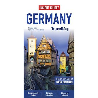 Insight Travel Map: Germany (Insight Travel Maps) (Map)