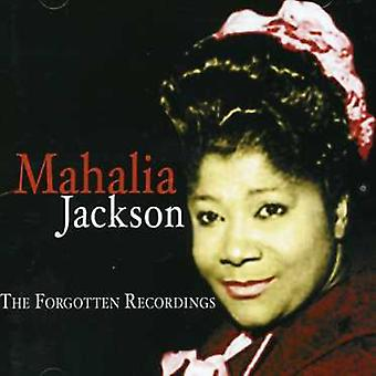 Jacksonmahalia - Forgotten Recordings [CD] USA import