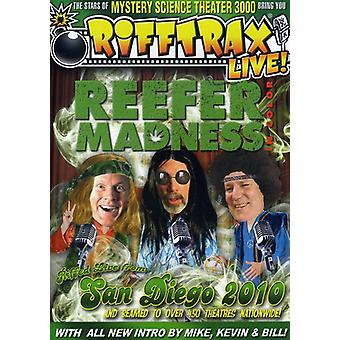 Live! Reefer Madness [DVD] USA import