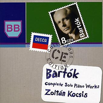 B. Bartok - Bart K: Complete Solo Piano Works [CD] USA import