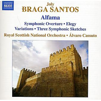 Braga Santos - Joly Braga Santos: Alfama [CD] USA import