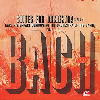 Bach / Ristenpart - Suite für Orchester Nr. 3 in D-Dur [CD] USA import