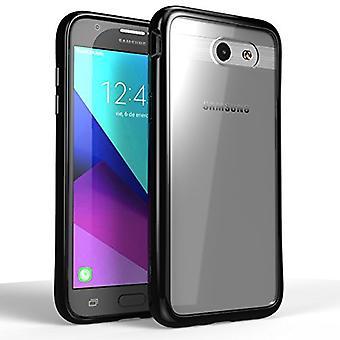 J3 Galaxy surgen casos, resistente a los arañazos, i-Blason claro Halo serie Samsung Galaxy J3 híbrido caso cubierta de parachoques