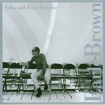 Earle Brown - Brown Earle: Folio en vier systemen [CD] USA import
