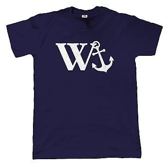 W anker, Mens morsom støtende T skjorte