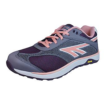 Hi Tec V Lite Nazka 5.0 Womens Trail / Walking Trainers / Shoes - Wine Grey