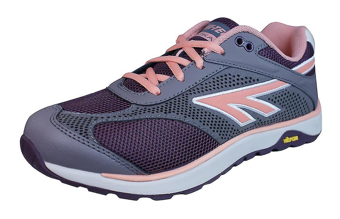 Hi Tec V Lite Nazka 5.0 Womens Trail Shoes / Walking Trainers / Shoes Trail - Wine Grey cb0f62