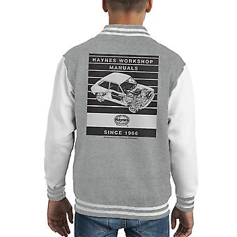 Haynes Workshop Manual 0173 Fiat 127 Stripe Kid's Varsity Jacket
