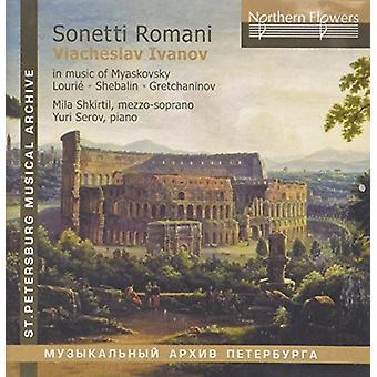 Shkirtil / Serov - Sonetti Romani - Viacheslav Ivanov i musik [CD] USA import