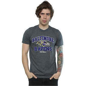 Majestueuze mannen NFL Baltimore Ravens voetbal T-Shirt