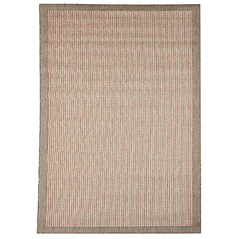 Outdoor carpet for Terrace / balcony/red brown Essentials chrome Terra 135 / 190 cm carpet indoor / outdoor - for indoors and outdoors