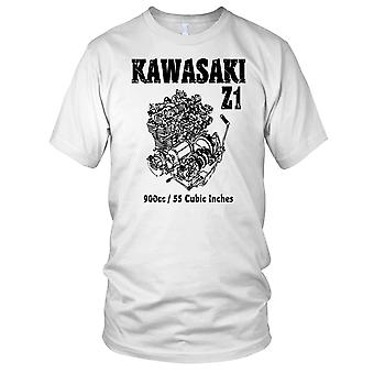 Kawasaki Z1 900cc Engine Classic Motorcycle Motorbikes Kids T Shirt