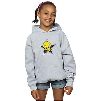 Looney Tunes Girls Tweety Pie Star Hoodie