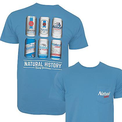 Natural Light History Lesson Rowdy Gentlehomme Tee Shirt