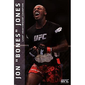 UFC - Jon Jones Poster Poster Print