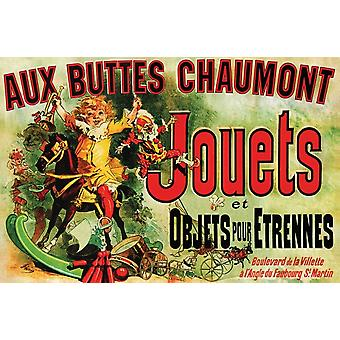 Jouets Chaumont Aux Buttes Chaumont Poster Poster Print