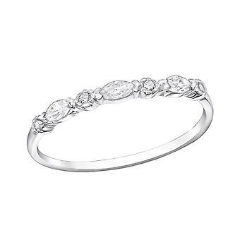 Empilable - en argent Sterling 925 empierré anneaux