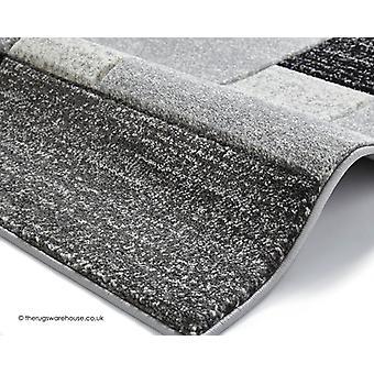 Puzzle grigio nero tappeto
