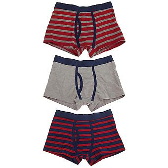 Tom Franks Boys Trunks With Keyhole Underwear (3 Pack)