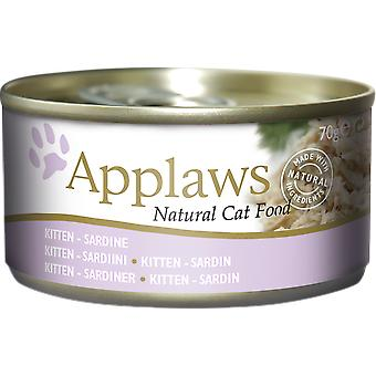Applaws Lata con Sardina para Gatitos (Chats , Nourriture , Pâté)