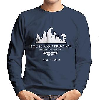Fortnite Haus Konstruktor Spiel der Throne Mix Herren Sweatshirt