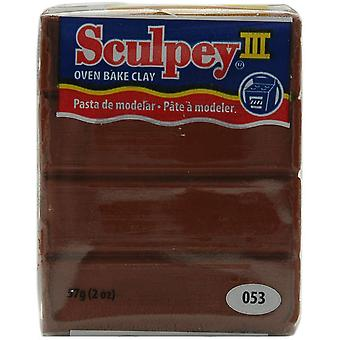 Sculpey Iii Polymer Clay 2 onces chocolat S302 053