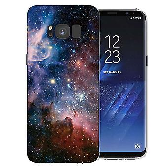 Samsung Galaxy S8 Blue Constellation TPU Gel Case