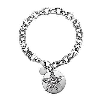 ESPRIT Дамы браслет нержавеющая сталь серебро большая звезда ESBR11607A190