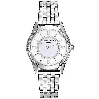Pierre Cardin Damen Uhr Armbanduhr TROCA silber PC108182F04