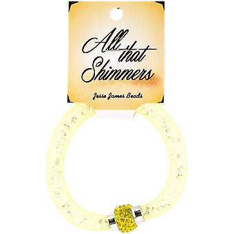 All That Shimmers Ready-Made Bracelets-Yellow