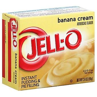 Jell-O Banana Cream Instant Pudding Dessert Mix