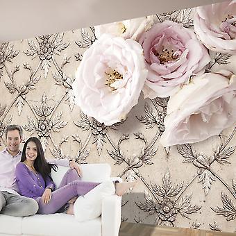 Wallpaper - Romantic beige
