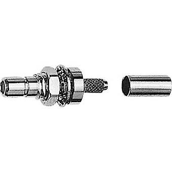 SMB connector Plug, mount 50 Ω Telegärtner J01160A0399 1 pc(s)