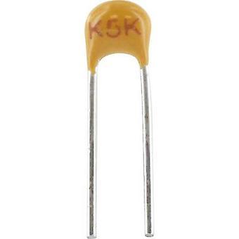 Ceramic capacitor Radial lead 150 pF 100 V 5 %