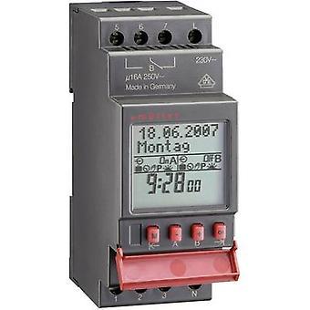 Müller SC 28,13 pro DIN rail montaje temporizador digital 230 V AC 16 A/250 V