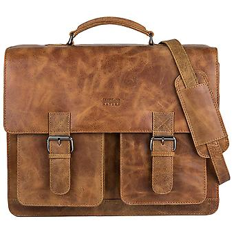 Greenland nature light Office bag file bag leather 1307-24