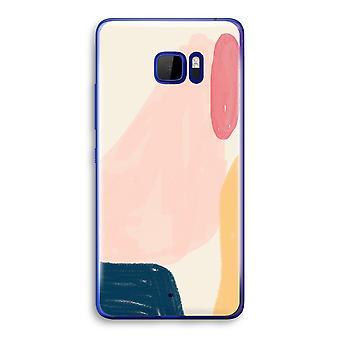 HTC U Ultra Transparent Case - Saturday Flow