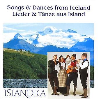 Islandica - importation USA chansons & danses d'Islande [CD]