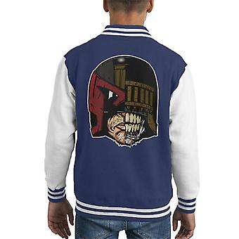 Face Off Judge Dredd And Death Kid's Varsity Jacket