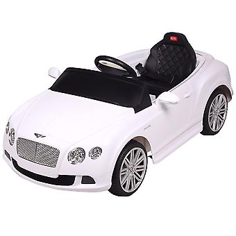 Licensed 12V Bentley Ride On Car Black/White