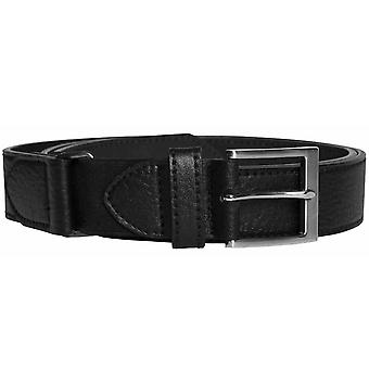 Duke D555 Mens Kingsize Xtenda Bonded Leather Belt - Black