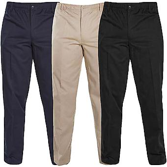 Duke D555 Mens Basilo Elasticated Rugby Trousers Bottoms Pants