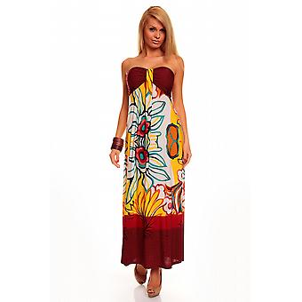 Waooh - mode - jurk lange strapless