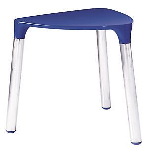 Gedy Yannis Stool Blue Chrome 2172 05