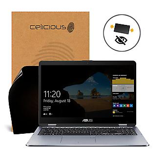 Celicious Privacy 2-Way Anti-Spy Filter Screen Protector Film Compatible with ASUS VivoBook Flip 14 TP401